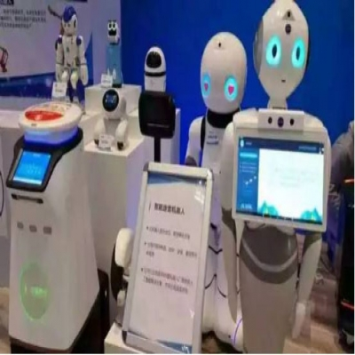 Artificial intelligence robot with emotional air strikes